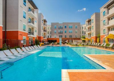 Pool at Liv+ Arlington