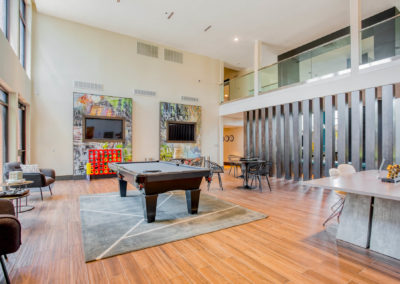 Common Room Area at Liv+ Arlington